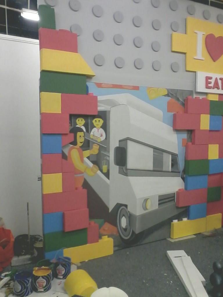 3d trick art indonesia mural for Mural indonesia