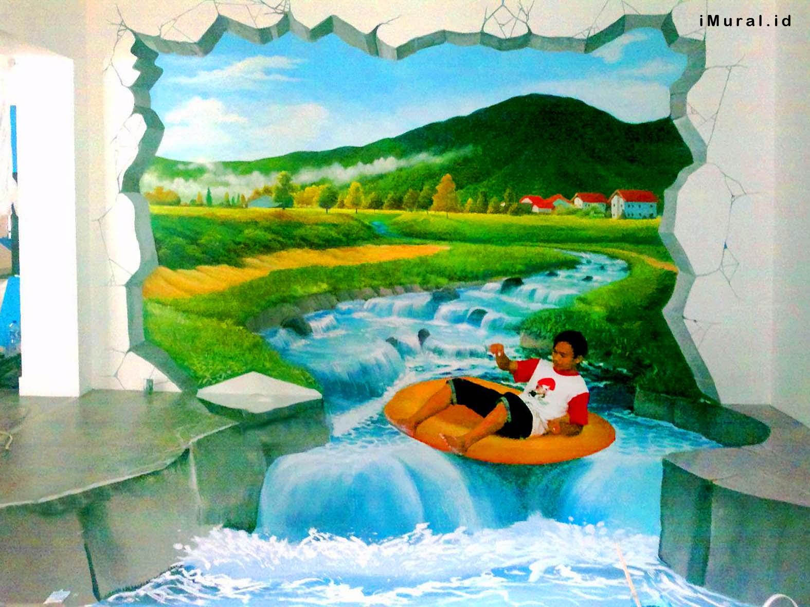 3d trick art dapat memanipulasi pandangan anda indonesia for Mural indonesia