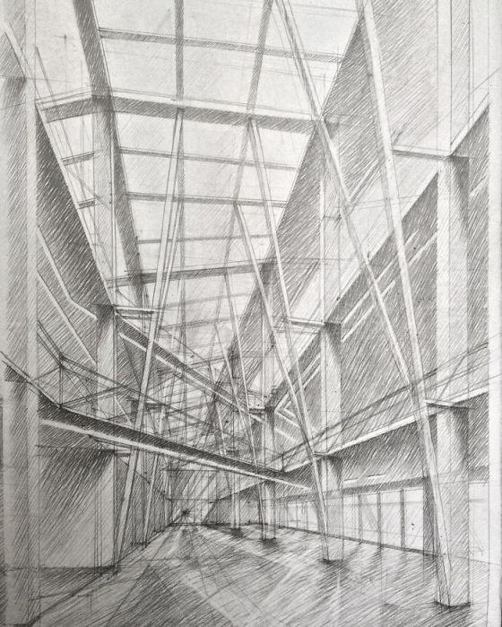 sketsa arsitektural 22